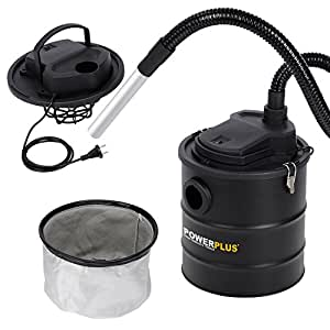 Varo POWX305 Aspirateur vide-cendres avec filtre à cartouche pour cheminée ou poêle 1000 W