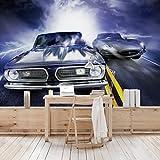 Apalis Kindertapeten Vliestapeten Fast und Furious Fototapete Breit | Vlies Tapete Wandtapete Wandbild Foto 3D Fototapete für Schlafzimmer Wohnzimmer Küche | mehrfarbig, 94911