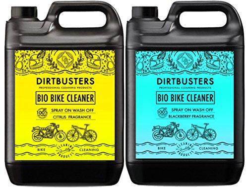 Bio Bike Cycle Motorrad-Reiniger 2x 5Liter Brombeere und Citrus mit Mikroben und Enzymen, leistungsstark, umweltfreundlich - Citrus Ii Citrus-reiniger