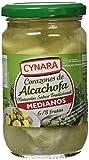 Cynara - Corazones de alcachofa al natural - Medianos 6/8 frutas - 175 g - [Pack de 3]