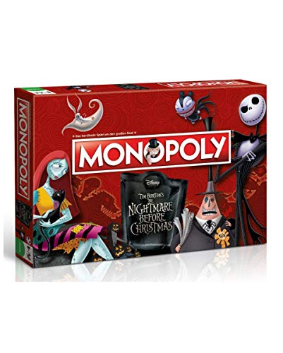 Horror-Shop The Nightmare Before Christmas Monopoly Brettspiel Deutsche - Christmas Monopoly