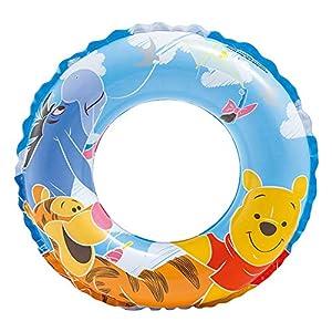 Intex Winnie the Pooh - Flotador hinchable para niños de 3 a 6 años, diámetro flotador: 51 cm