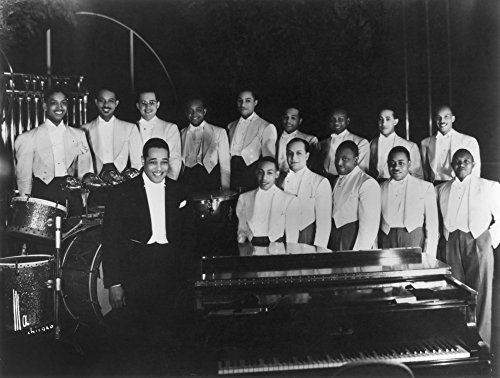 The Poster Corp Duke Ellington (1899-1974). /Namerican Musician and Composer. with His Orchestra In 1937. Kunstdruck (60,96 x 91,44 cm)