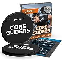 Urbnfit Ultimate Core Slider–Ultimate esercizio disco che rinforza e tonifica il tuo corpo intero, Black