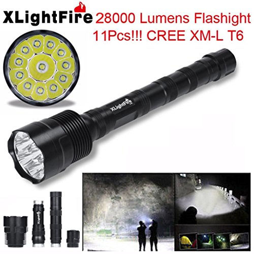 HCFKJ Xlightfire 30000 Lumen 12X Cree Xml T6 5 Modus 18650 Super Helle Led Taschenlampe