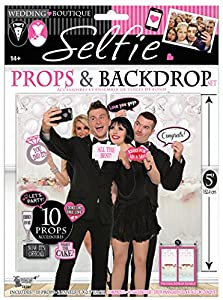 Forum Novelties X78391 - Juego de portafotos para boda (talla única), multicolor