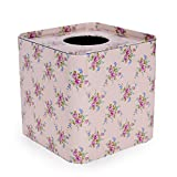 Scrafts Floral Print Square Tissue Box