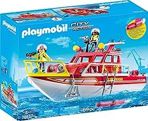 PLAYMOBIL 70147 City Action - Bombero, Multicolor