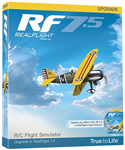 Great-Planes-RealFlight-75-Upgrade-para-G4-y-encima-Avin-RC