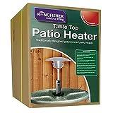 Kingfisher PH300 Garden Outdoor Table Top Patio Heater - Multi-Colour