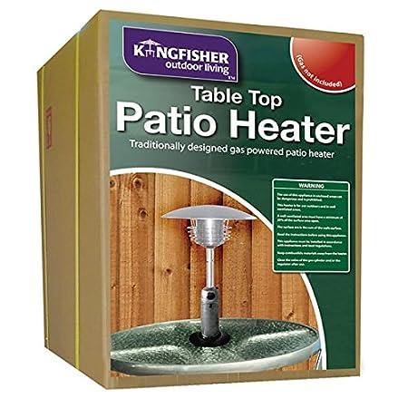 Kingfisher PH300 Garden Outdoor Table Top Patio Heater   Multi Colour:  Amazon.co.uk: Garden U0026 Outdoors