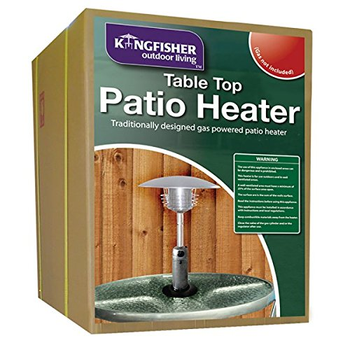 Kingfisher PH300 Garden Outdoor Table Top Patio Heater   Multi Colour:  Amazon.co.uk: Garden U0026 Outdoors