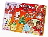 Feuchtmann Spielwaren 6285388 - Art Cutters X-Mas Set, 320 g Modelliermasse und 4 Formen, 15-teilig