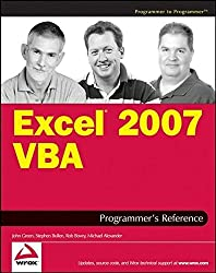 Excel 2007 VBA Programmer's Reference by John Green (2007-03-26)