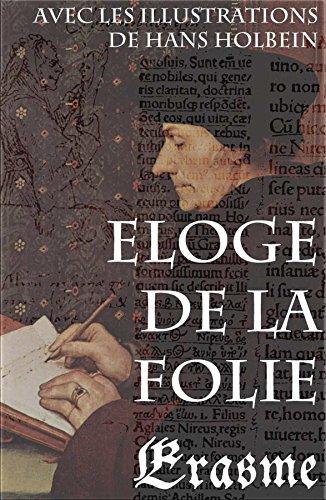 Couverture du livre Eloge de la Folie (avec les illustrations de Hans Holbein)