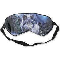 Comfortable Sleep Eyes Masks Wolf Printed Sleeping Mask For Travelling, Night Noon Nap, Mediation Or Yoga E2 preisvergleich bei billige-tabletten.eu
