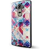 LG G4 Funda,Lizimandu 3D Patrón Protectiva Carcasa de Silicona Gel TPU estrecha Case Cover Para lg g4(Colorful Estopa/Colorful Pizzle)