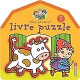 La jolie ferme - Mon premier livre puzzle (dès 1 an)