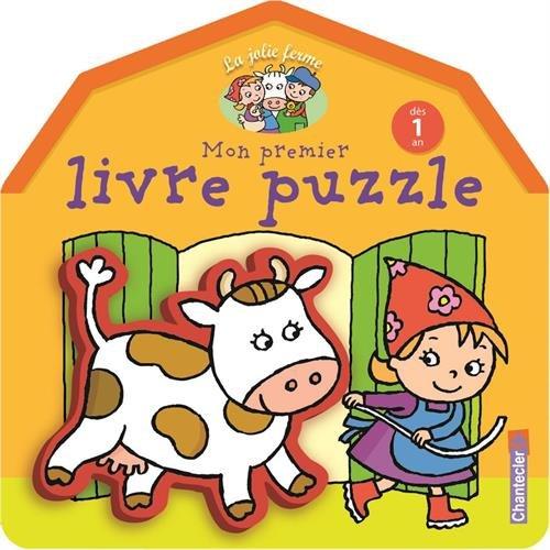 La jolie ferme : Mon premier livre puzzle (dès 1 an)