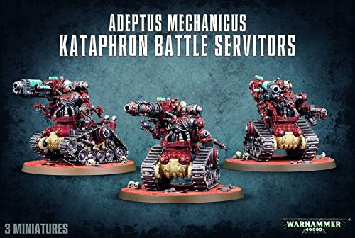 Warhammer 40K Adeptus Mechanicus Kataphron Battle Servitors by Games W