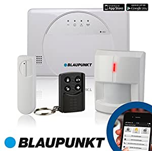 blaupunkt sa 2500 smart gsm funk alarmanlage f rs haus. Black Bedroom Furniture Sets. Home Design Ideas