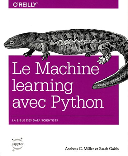 Machine learning avec Python par Andreas C.MUELLER