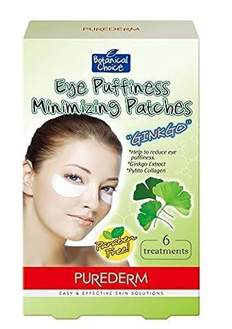 Purederm - patch anti-poche yeux GINKGO - 4