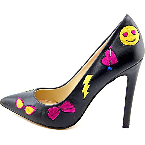 Betsey Johnson Papii Synthétique Talons Black