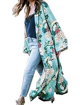 Homebaby® Copricostume Mare Cardigan Donna Chiffon Taglie Forti - Casual Estivo Scialle Elegante - Costume da...