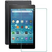 IVSO Pellicola Protettiva Schermo in Vetro Temperato per Nuovo tablet Fire HD 8, 20,3 cm 8 pollici, 6. Generation - 2016, (Tempered Glass - 1 Pack)