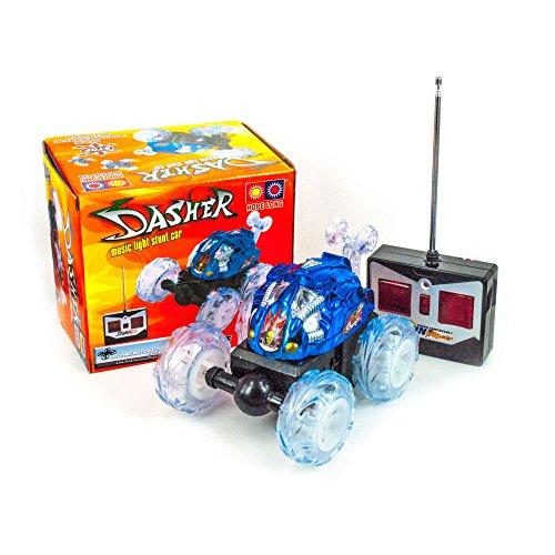 DROHNENSTORE24.DE ...DER DROHNEN-GURU DS24 Dasher Mini Race Auto in Blau Stunt Spielzeug