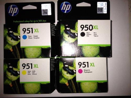Preisvergleich Produktbild 4 Original XL Druckerpatronen für HP Officejet Pro 276 DW 276DW (XL Black,Cyan,Yellow,Magenta) Tintenpatronen