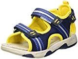 Geox Baby Jungen B Multy Boy a Sandalen Blau (Navy/Yellow C0657) 22 EU