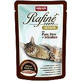 Animonda Rafine Soupe Senior mit Pute, Ente plus Schinken, 24er Pack (24 x 100 g)