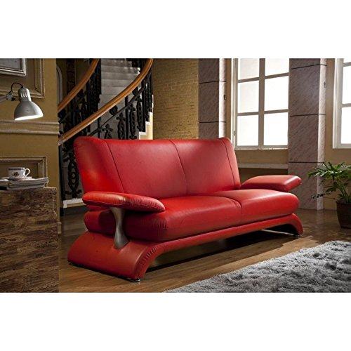 Designersofa Leder-Sofa-3 Sitzer Designercouch Designsofa 5005-3-R sofort