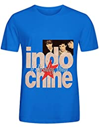 Indochine Le Birthday Album 1981 1991 Pop Hommes Crew Neck Customized T Shirt Large