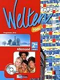 Welten Neu 2de • Manuel de l'élève avec CD audio-vidéo (Éd. 2010)