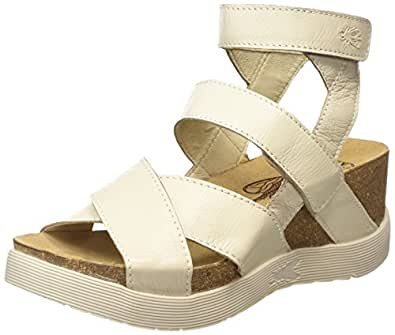 Fly London Women S Wege669fly Sandals Amazon Co Uk Shoes