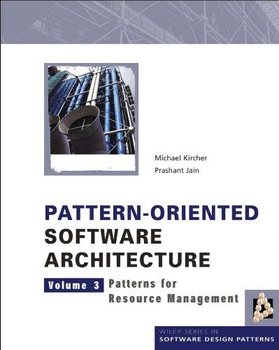 Pattern-Oriented Software Architecture: Patterns for Resource Management: Patterns for Resource Management v. 3 (Wiley Software Patterns Series) por Michael Kircher