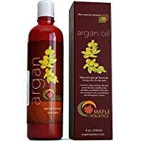 Argan Oil Shampoo, Sulfate Free - With Argan, Jojoba, Avocado, Almond, Peach Kernel, Camellia Seed, and Keratin - 100% Safe for Color Treated Hair - For Men, Women, and Teens - All Hair Types - Most Beneficial Haircare Product Available