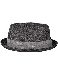 33100f743a0 Stetson straw hat Pork Pie Robstown Toyo sun hat women s   men s beach hat  made of