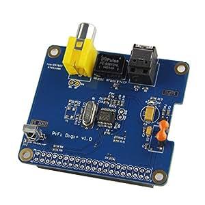 HIFI spécifique DiGi Digital Sound Card I2S SPDIF fibre optique pour Raspberry Pi A / B