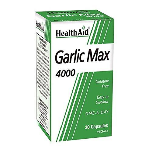Garlic Max 4000 (Knoblauch) 30 veg. Kapseln HA (Vegan)