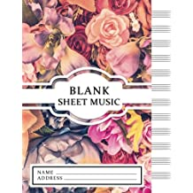 Blank Sheet Music: Vintage Design - Music/Instruction&Study/Composition (12 Staves)