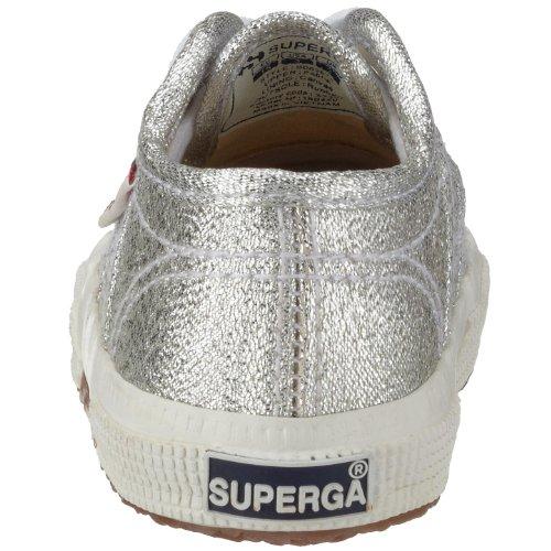 Superga 2750 Lameb, Scarpe da Ginnastica Unisex – Bambini Silver (silver)