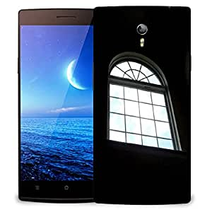 Snoogg Alone Window Designer Protective Phone Back Case Cover For Oppo Find 7