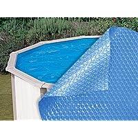 Copertura isotermica per piscina autoportante ovale 730 x 366