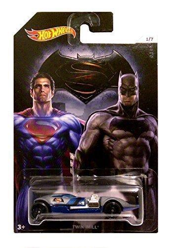 Hot Wheels - Batman vs Superman Dawn of Justiciers - Double Filature (Long Carte)
