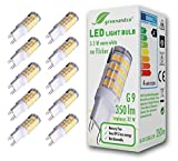Best Philips Lighting 4 Leds - 10x Lámpara bombilla LED greenandco® G9 3,5W Review