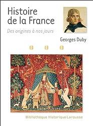 Histoire de France des origines à nos jours